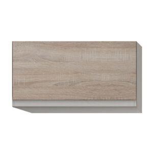 Felsőszekrény egy ajtóval, tölgy sonoma, LINE G60
