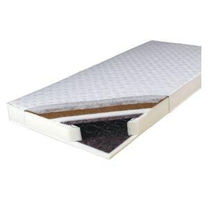 Kétoldalas rugós matrac, 140x200, KOKOS MEDIUM