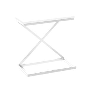 Kisasztal/éjjeliszekrény, fehér, APIA