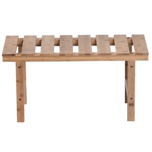 Téglalap alakú kisasztal pezsgőfürdőhöz, természetes bambusz, VIREO TYP 4