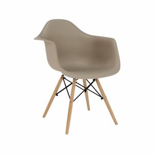 Fotel, capuccino/bükk, DAMEN NEW