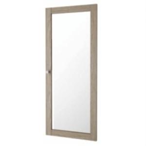 Üveges szekrény ajtó, tölgy sonoma, BASIC 71772