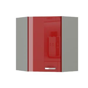 Felsőszekrény, piros magas fényű, PRADO 60/60 N G-72