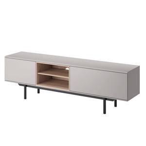 TV asztal IRTV 175, szürke/jackson hickory tölgy, INEM