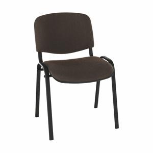 Irodai szék, barna, ISO NEW