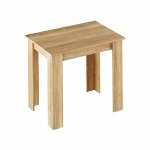 Étkezőasztal, sonoma tölgy, 86x60 cm,  TARINIO