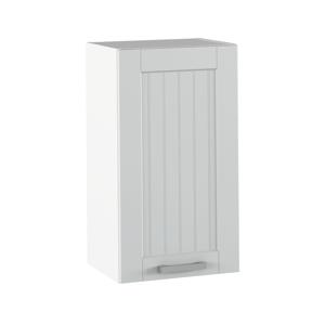 Felső szekrény, világosszürke/fehér, JULIA TYP 4
