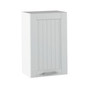 Felső szekrény, világosszürke/fehér, JULIA TYP 5