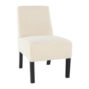 Fotel, bézs/fekete, HEROLA