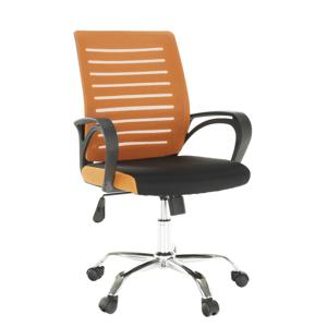 Irodai szék, narancssárga/fekete, LIZBON