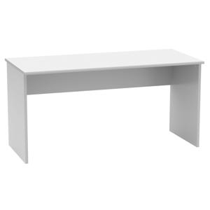 Íróasztal, fehér, JOHAN NEW 01