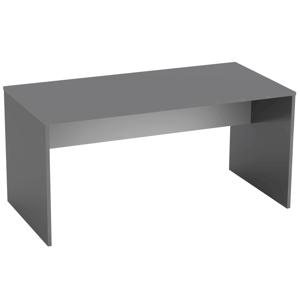 Íróasztal, grafit/fehér, RIOMA TYP 16