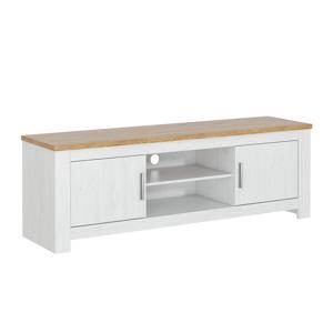 TV asztal, fehér andersen/bernstein tölgy, RENE 173