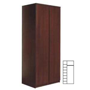 2 ajtós szekrény, erdei fenyő/lareto, PELLO 20 TÍPUS