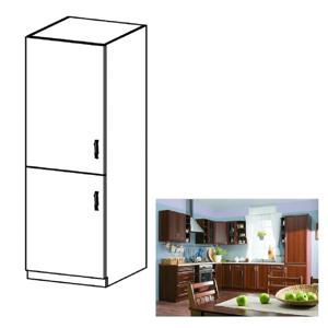 Hűtő beépítő alsószekrény D60ZL, balos, dió Milano, SICILIA