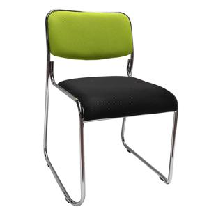 Szék tárgyalóterembe, zöld/fekete háló, BULUT