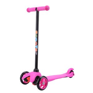 Gyerek roller, háromkerekű, rózsaszín, TESIA TYP 1