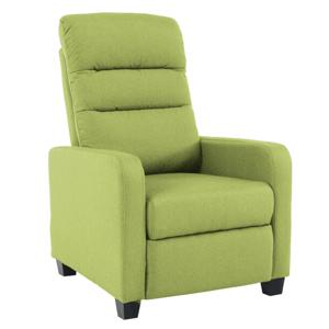 Relaxáló fotel, zöld, TURNER