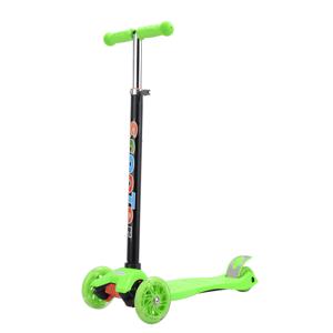 Gyerek roller, LED kerekek, zöld, VAOLA TYP 1